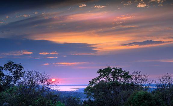 Sunset in Siem Reap