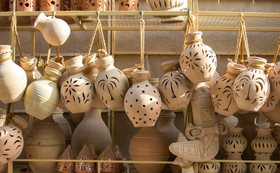 Pottery in Nizwa market