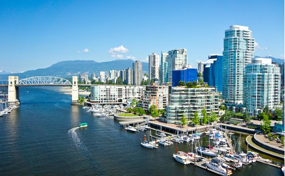 View of Vancouver river