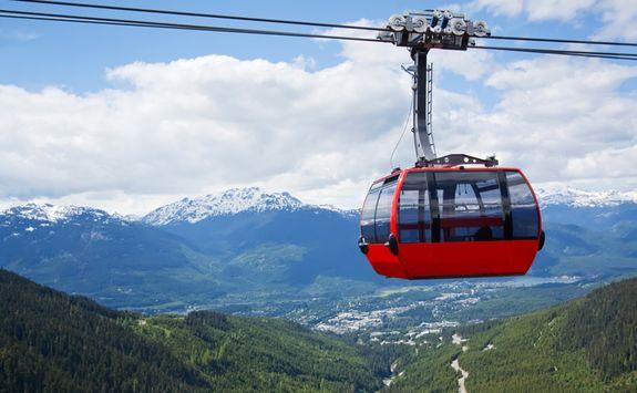 Gondola in Whistler