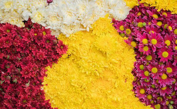 Flowers in Mandalay Market