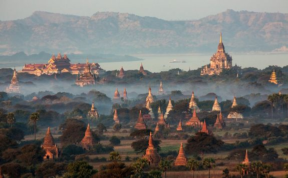 Sagaing temples