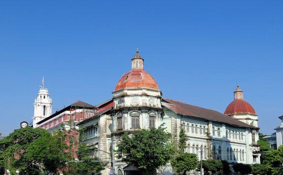British Colonial Building