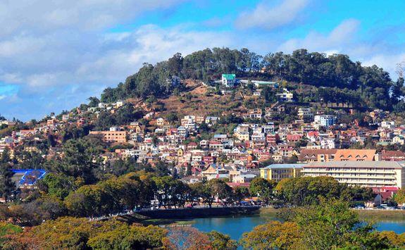 Antananarivo hill