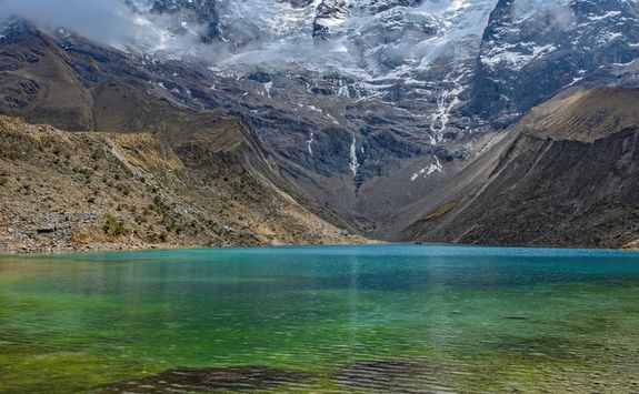 Lake in the Urubamba mountains