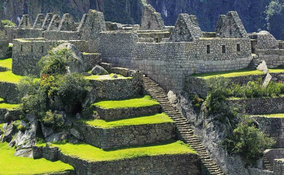 Machu Picchu detail