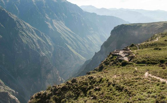 Lookout spot at the Colca Canyon