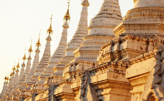 Kuthodaw Pagoda, a Buddhist stupa