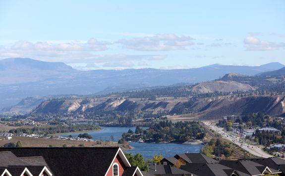 Kamloops city view