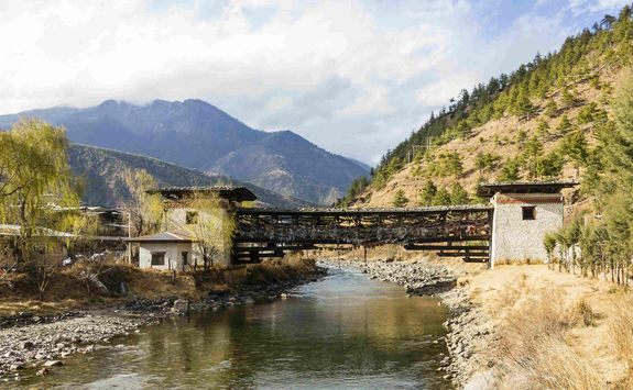 Thimphu Bridge