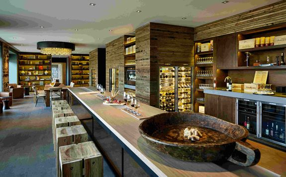Six Senses wine library