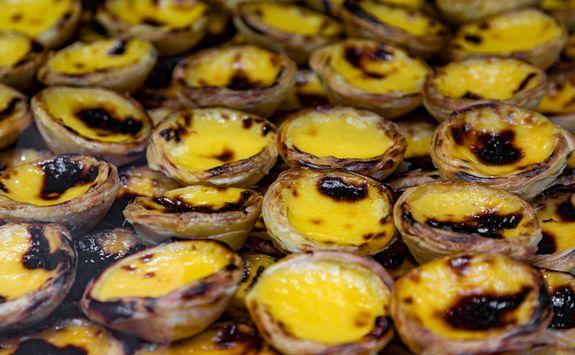 Pastéis de Nata. Portuguese Custard Tarts