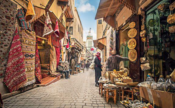 Markets in Fez