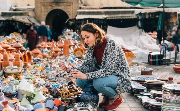 Market in Meknes