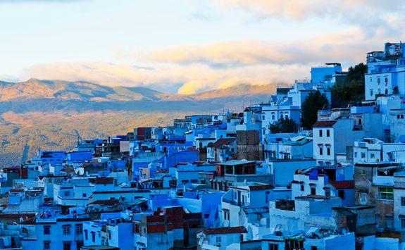 Chedchaouen blue Medina