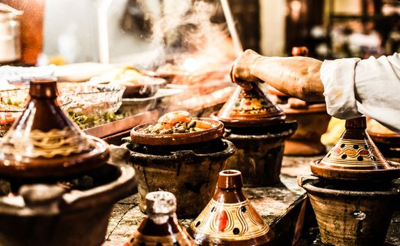 Traditional Moroccan Food