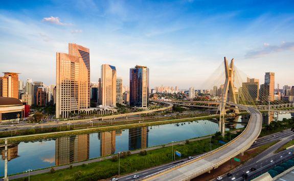 Bridge in Sao Paulo