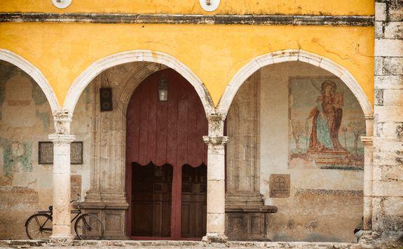 Street in San Miguel