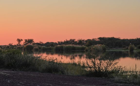 Sunset in the Marataba Game Reserve