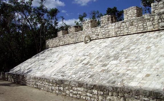 Mayan site in Mexico's Yucatan peninsula