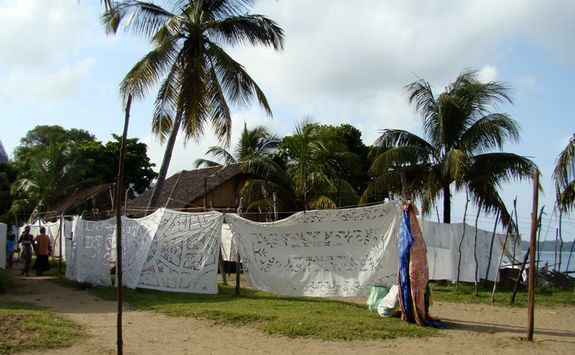 Local village textiles