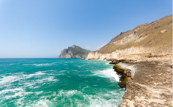 Dhofar coastline