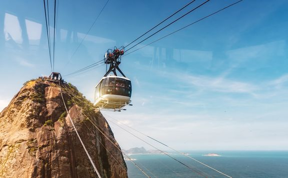 Cable car in Rio