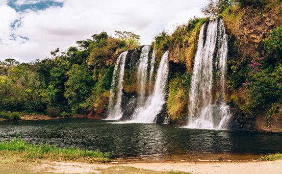 Cachoeira da Fumaca waterfall