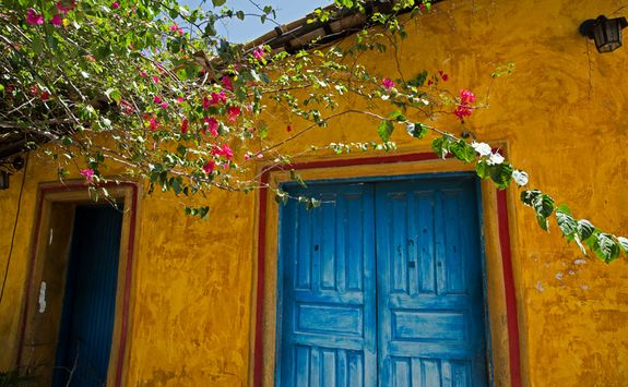 Yellow house in Trancoso