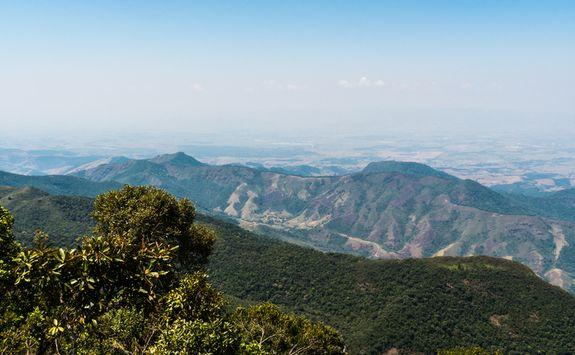 Minas Gerais hills