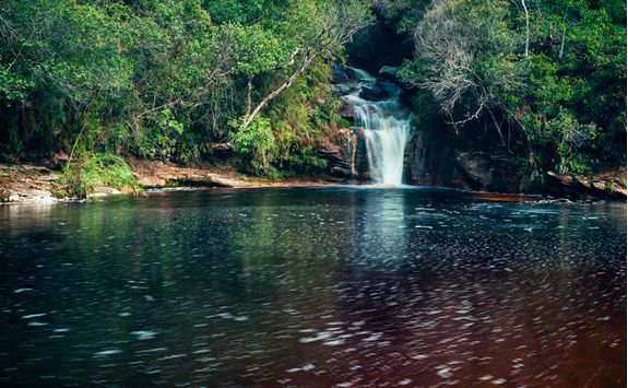 Waterfall in Minas Gerais