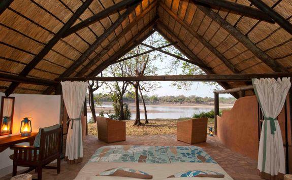 Nkwali guestroom view