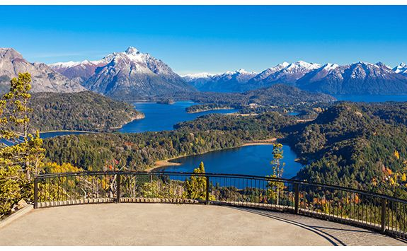 views of Barliloche