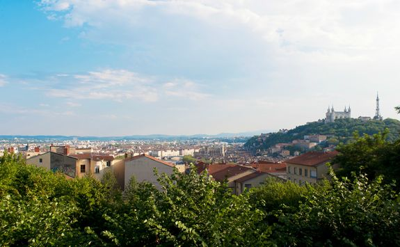 View over Lyon