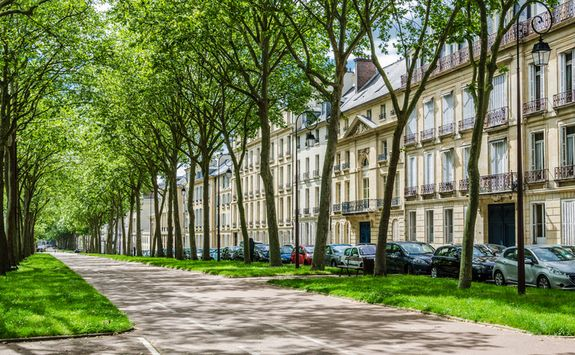 Town houses in Versailles