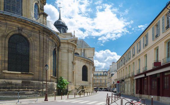 Versailles town centre