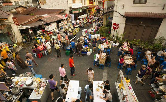 Market in Malacca