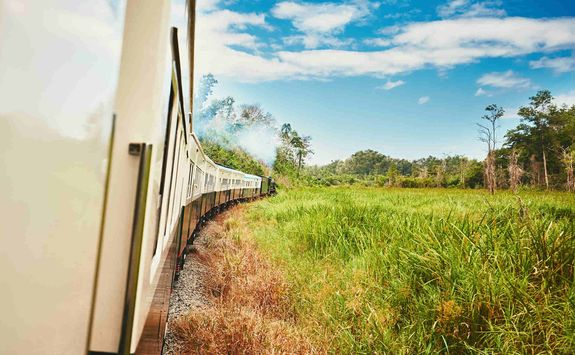 Travelling by train in Malaysia
