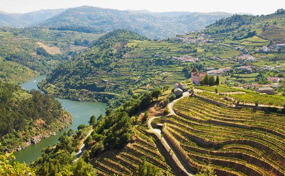 Douro Valley River