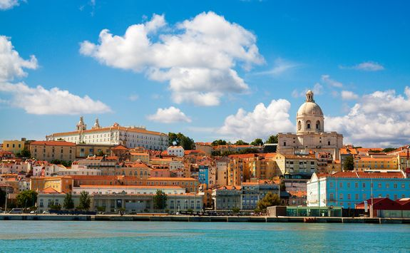 River in Lisbon