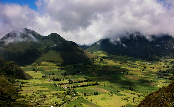 Quito's countryside