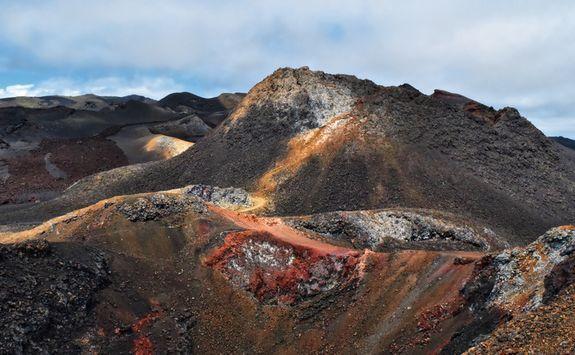 Isabela Island lava