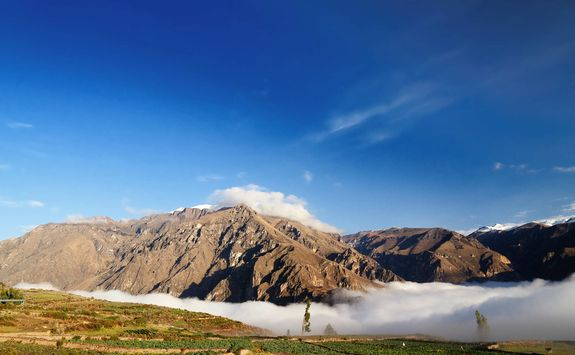 Fog in the Colca Canyon