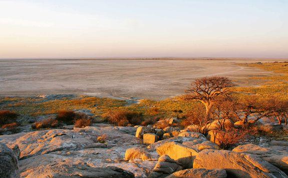 View across the desert