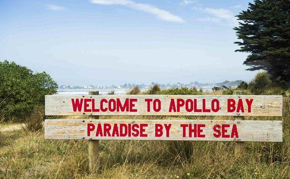 Apollo Bay Welcome Sign