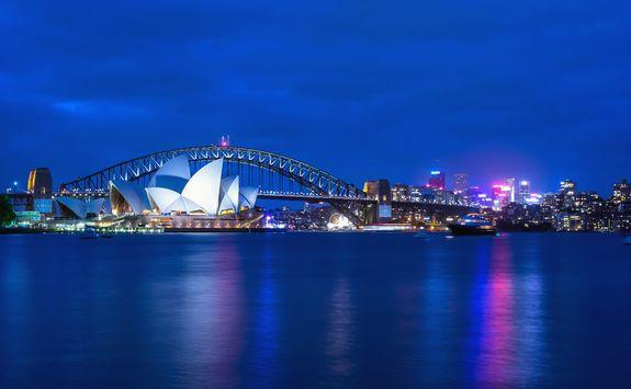 Sydney Opera House at twilight