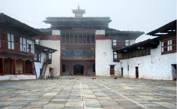 Monument in Bhutan