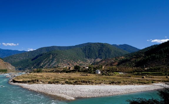 Countryside in Punakha