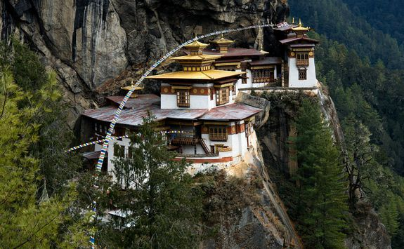 Above the Tiger's Nest Monastery