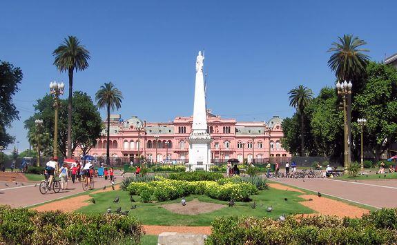 casa rosada presidential building